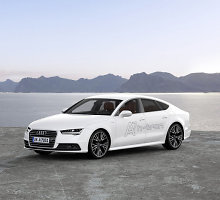 "Naujas ""Audi"" hibridas – ""A7Sportback h‑tron quattro"""