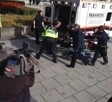 Teroro aktų virtinė Otavoje: nušautas garbės sargybos karys, įsiveržta į parlamentą, šaudyta prekybos centre