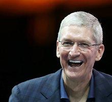 """""""Apple"""" vadovas Timas Cookas prisipažino esantis gėjus"""