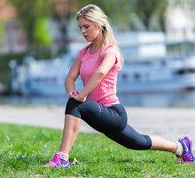 """Pusmaratonio trąsą pasiryžusi įveikti Edita Užaitė: """"Šiandien bėgimas man – jau toks pat įprotis, kaip ir išsivalyti dantis"""""""