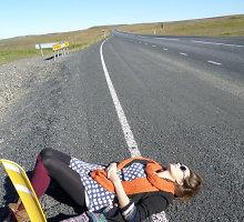 """Konkursas """"Egzotikos kampelis"""". Autostopu aplink ledo ir ugnies žemę – Islandiją"""
