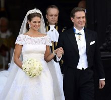 Švedijos princesė Madeleine laukiasi antrojo vaiko