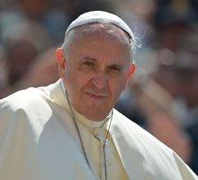Popiežius Pranciškus užsimena nemanąs dar ilgai būti prie Katalikų Bažnyčios vairo