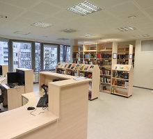 5 mln. Lt kainavusioje Žirmūnų bibliotekoje – 100 tūkst. knygų ir leidinių