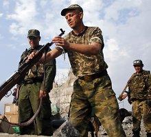 Ukrainos kariuomenė: Rusijos pajėgos stiprina savo pozicijas