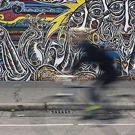 """AFP/""""Scanpix"""" nuotr./Berlyne iškilmingai atidengtas restauruotas Berlyno sienos fragmentas"""