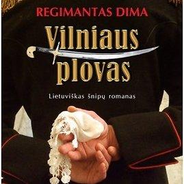 """Knygos """"Vilniaus plovas"""" viršelis"""
