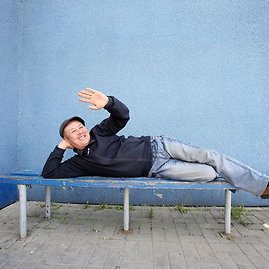 Eriko Ovčarenko/15min.lt nuotr./Automobilių pirkėjas iš Kirgizijos M.Umurčijevas