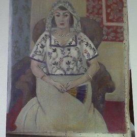 """Reuters""/""Scanpix"" nuotr./Henri Matisse piešinys ""Sitting Woman"""