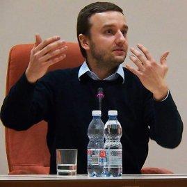 """Juozas Valčiukas / Akimirkos iš ELSA MRU renginio """"Teisininkas ir praktika"""" / Asmeninio archyvo nuotr."""