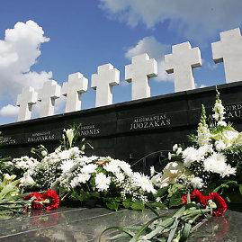 Redo Vilimo/BFL nuotr./Memorialas Medininkų aukoms atminti