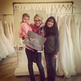 """Instagram"" nuotr./Jamie Lynn Spears su dukra Maddie ir mama Lynne"