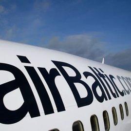 """Airbaltic.com nuotr./""""Airbaltic"""" lėktuvas"""