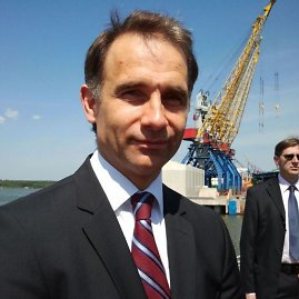 "L. Sėlenienės nuotr. /AB ""Klaipėdos nafta"" generalinis direktorius Rokas Masiulis"