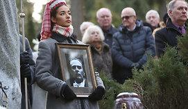 Maestro Saulius Sondeckis palaidotas Antakalnio kapinėse