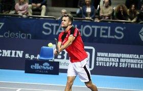 Lauryno Grigelio ir italo duetas pateko į ITF teniso turnyro Egipte dvejetų varžybų finalą