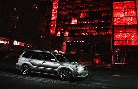 """Olandas nusprendė patobulinti itin retą """"Subaru Forester STI"""""""
