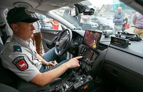 Kauno rajono policija kelių chuliganus tramdys itin moderniu greičio matuokliu
