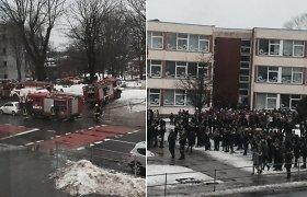 Po gaisro Vilniaus mokykloje – pasiūlymai dėl privalomų prevencijos priemonių