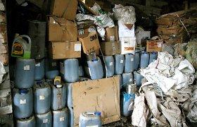 Baigus tvarkyti pavojingas atliekas, Kauno rajone atšaukta ekstremali situacija
