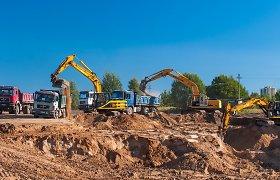 Įsibėgėjantys Vilniaus vakarinio aplinkkelio trečiojo etapo statybos darbai žavi vilniečius