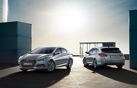 """Atnaujintas """"Hyundai i40"""" jau Lietuvoje"""