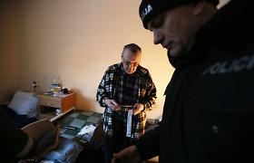 """Panevėžio apskrityje policija rengia akciją """"Benamis"""""""