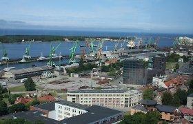 Klaipėda port protests over designated NordBalt cable position