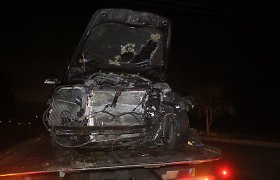 Ketvirtadienį keliuose įvyko 11 avarijų, per jas tuzinas žmonių sužeista ir 1 žuvo