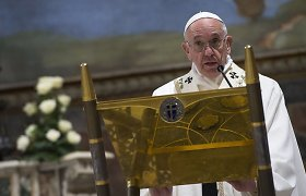 Popiežius Pranciškus: žaviuosi Kinija