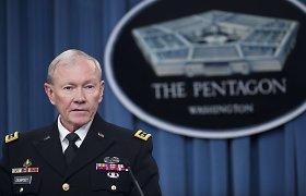 JAV kariuomenės vadas generolas Martinas Dempsey pasisako už ginklų tiekimą Ukrainai