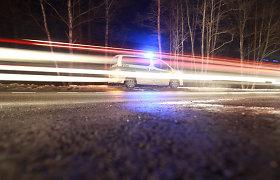 Partrenktas automobilio Utenoje žuvo pėsčiasis