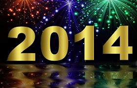 Laimingų 2014-ųjų metų, mieli skaitytojai