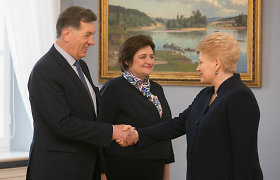 Lietuva palankiausiai vertina D.Grybauskaitę, A.Butkevičių ir E.Masiulį