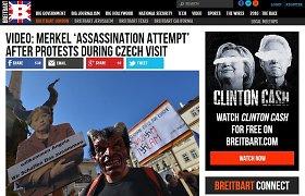 """""""Breitbart"""": JAV dešiniųjų propaganda atkeliauja į Europą"""