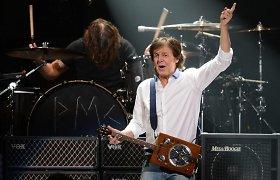 """Per """"Grammy"""" įteikimo ceremoniją koncertuos Paulas McCartney ir Ringo Starras"""