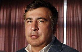 Michailas Saakašvilis paskirtas Ukrainos Odesos srities gubernatoriumi