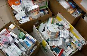 Kaune rasta nelegaliai pardavinėtų rusiškų ir baltarusiškų vaistų