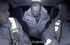 Policija paviešino vaizdo įrašuose užfiksuotus kyšių siūlytojus: kuo gundomi pareigūnai?