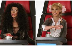 Christina Aguilera reklamoje parodijavo Britney Spears, Lady Gagą, Cher ir kitas garsias koleges