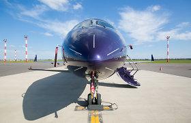 Privatūs lėktuvai seka gerą orą ir pinigus
