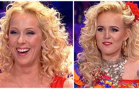 Pasirinkusios vienodą šukuoseną, Ineta Stasiulytė ir Laisva supanašėjo it seserys: kuriai tinka labiau?