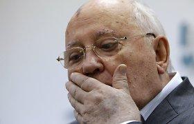 Kalbėdamas apie Boriso Nemcovo nužudymą Michailas Gorbačiovas kartoja V.Putino versiją