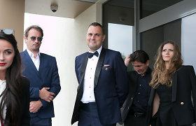 Indrė ir Jogaila Morkūnai vestuves atšventė oro uoste