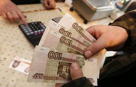 Recesija Rusijoje šių metų sausį – didžiausia per 6 metus