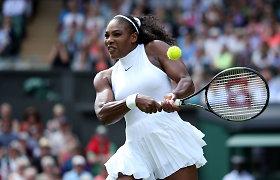 """Dar viena netektis: iš """"Rogers Cup"""" turnyro pasitraukė Serena Williams"""