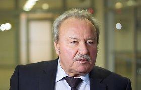Bronius Bradauskas dėl sūnaus Dainoro karjeros pareigų Seime neaukos