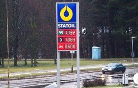 Kuo daugiau degalų vartosite, tuo labiau jie brangs