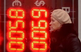 Trys ketvirtadaliai rusų pripažįsta, kad Rusijos ekonomikos problemos nėra laikinos