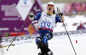 Ukrainos parolimpinių žaidynių medalininkai sugalvojo tylų protestą prieš Rusiją